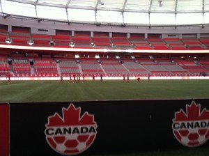 B.C. Place, site of the 2015 World Cup final. (Photo Copyright Harjeet Johal for The Equalizer)