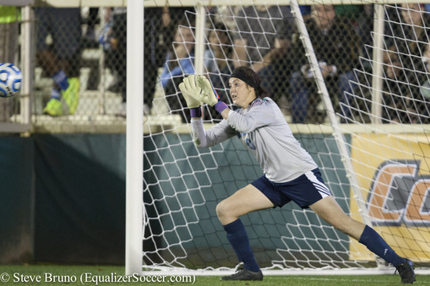 Katelyn Rowland, shown during her record setting career at UCLA, is heading to the Western New York Flash  (Photo Copyright Steve Bruno for The Equalizer)