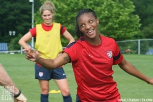 Cyrstal Dunn did not make the United States' Women's World Cup roster. (Photo copyright Meg Linehan for The Equalizer.)