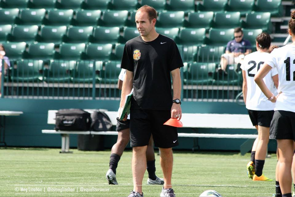 Aaran Lines is out as head coach of the Western New York Flash. (Photo copyright Meg Linehan for The Equalizer)