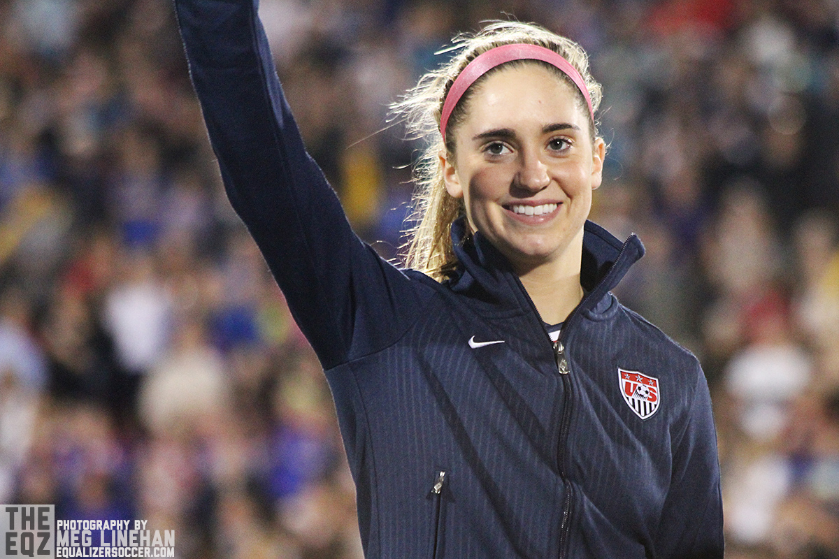 Morgan Brian is the youngest player on the United States' 2015 Women's World Cup roster. (Photo Copyright Meg Linehan for The Equalizer)