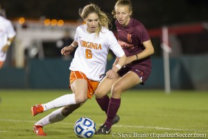 The Houston Dash plan to pick Morgan Brian with the No. 1 overall pick. (Photo copyright Steve Bruno.)
