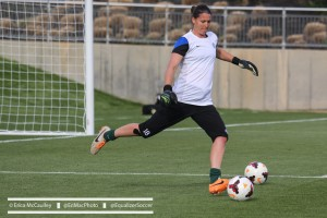 Nicole Barnhart will be in search of her 4th consecutive shutout on Thursday against the Flash