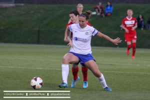 Lauren Holiday and FC Kansas City can clinch a playoff berth with a win -- or help the Reign clinch 1st with a setback (Photo Copyright Erica McCaulley for The Equalizer)