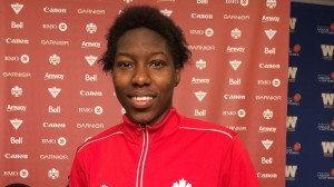 Kadeisha Buchanan, 18, is already a fixture with Canada's senior team. She'll play in the U-20 WWC, which starts Tuesday. (Photo Copyright Harjeet Johal for The Equalizer)