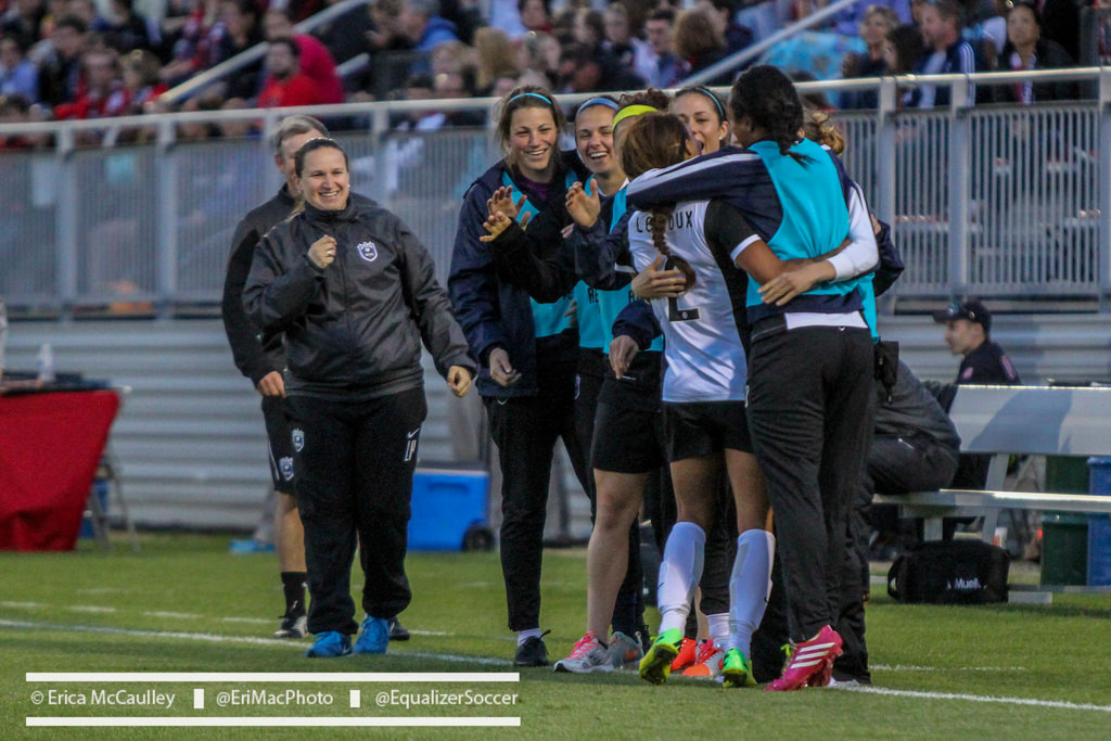 Laura Harvey's plethora of off season moves vaulted the Reign to the top of the NWSL table in 2014. (Photo Copyright Erica McCaulley for The Equalizer)
