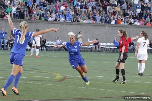 Lianne Sanderson won't return to the Breakers in 2015. (Photo Copyright Clark Linehan for The Equalizer)