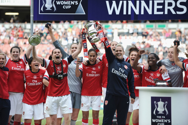Arsenal Ladies are FA Cup champions for the 13th time. (Getty Images)