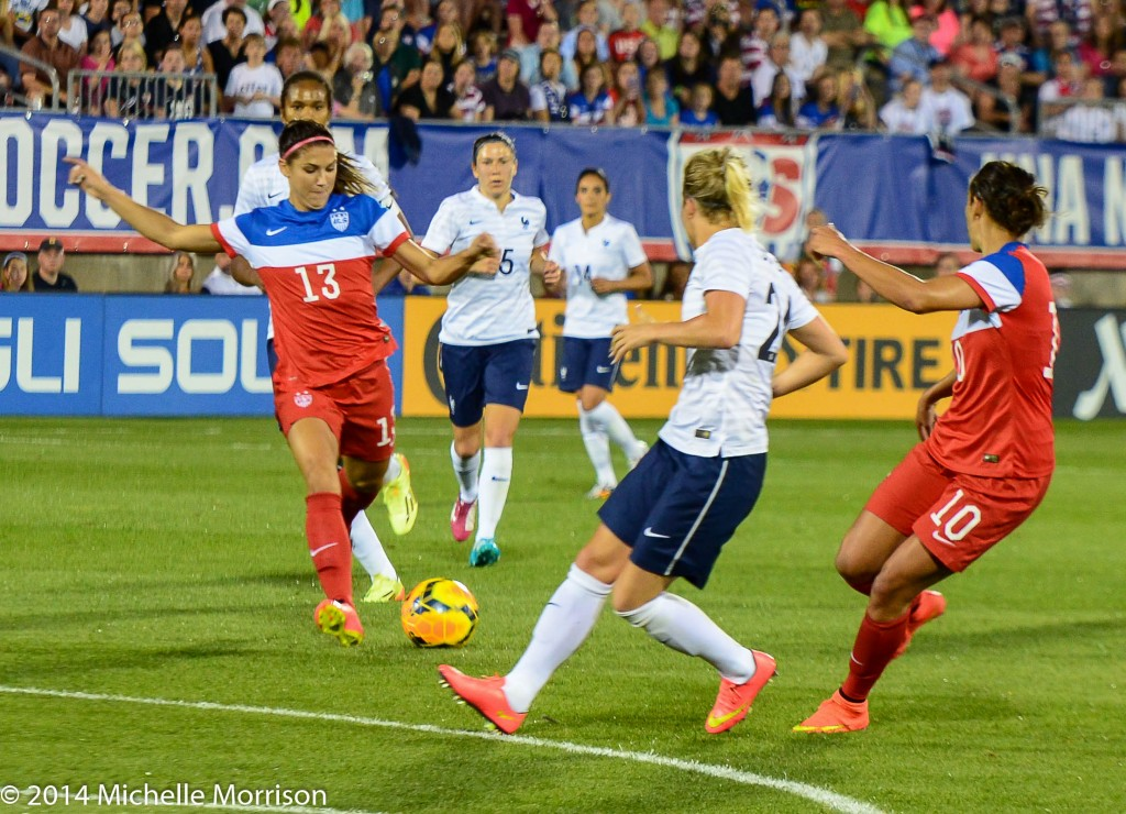 The United States and France will play once again on U.S. soil in March. (Photo Courtesy Michelle Morrison)