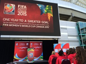 Canada's one-year countdown to the World Cup began Friday. (Photo Copyright Harjeet Johal for The Equalizer)