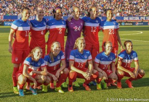The U.S. women will play Mexico twice in September. (Photo Courtesy Michelle Morrison, The Soccer Desk)