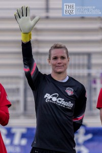 After three seasons with the Spirit, Ashlyn Harris is heading home to play for Orlando Pride.   (Photo Copyright Erica McCaulley for The Equalizer)