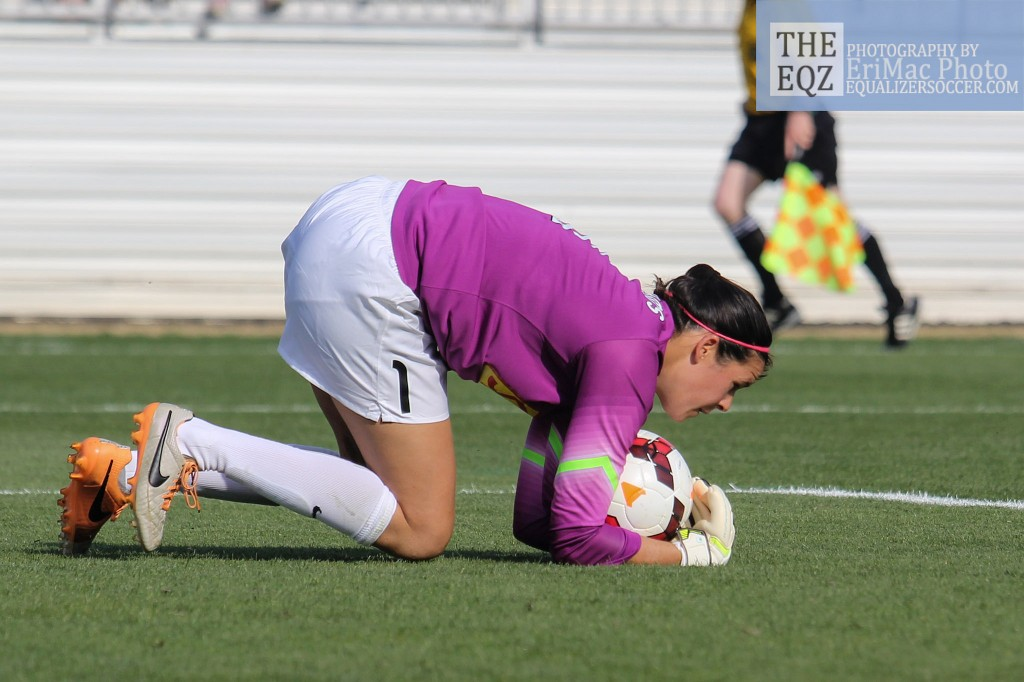 The Houston Dash have signed Australia goalkeeper Lydia Williams, seen here playing for the WNY Flash in 2014. (Photo Copyright Erica McCaulley for The Equalizer)