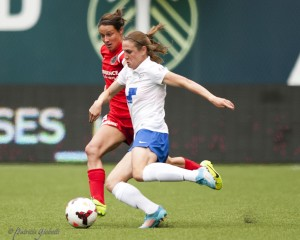 Heather O'Reilly scored twice to lift Boston past WNY on Friday. (Photo Copyright Patricia Giobetti for The Equalizer)