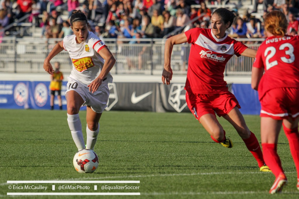 The Flash and Spirit are in the thick of the NWSL playoff hunt. (Photo Copyright Erica McCaulley for The Equalizer)