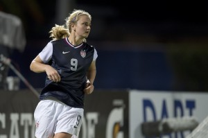 Lindsey Horan scored the only goal of the match in a 1-0 win over Brazil. (Photo Courtesy U.S. Soccer)