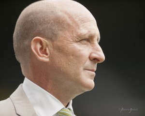 Paul Riley lamented the absence of his World Cup players. (Photo Copyright Patricia Giobetti for The Equalizer)