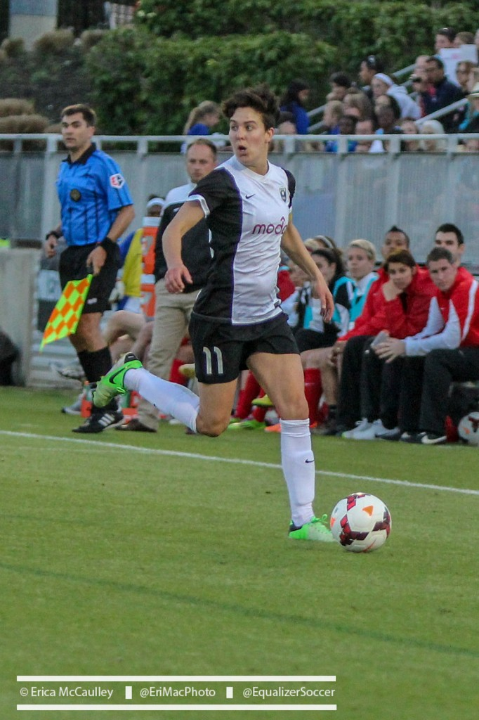 Keelin Winters and Seattle Reign FC will be a tough test for FC Kansas City. (Photo Copyright Erica McCaulley for The Equalizer)
