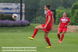 Yael Averbuch will play for Arsenal in December as a guest player. (Photo Copyright Erica McCaulley for The Equalizer)