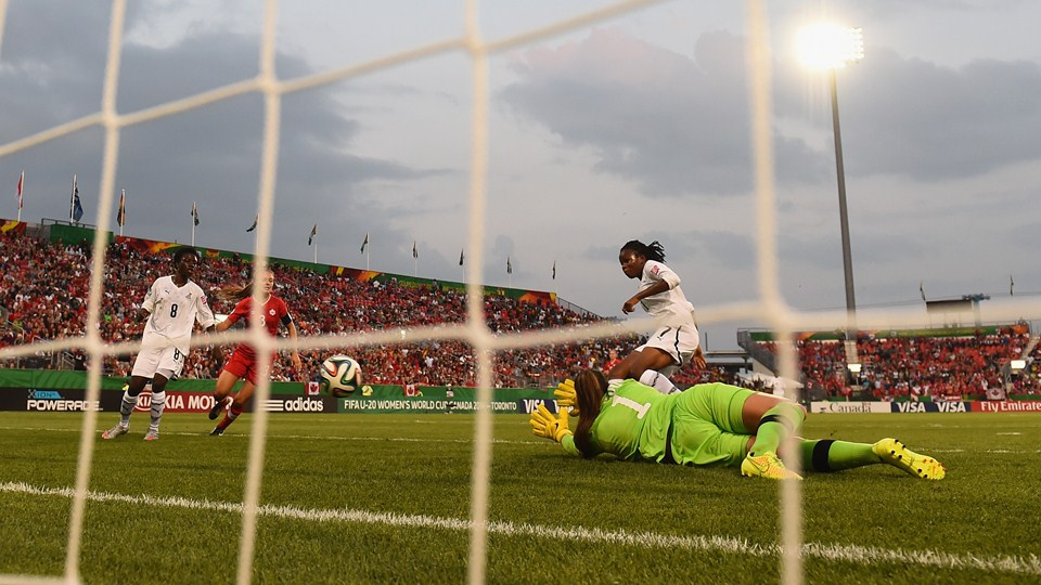 Toronto had a good showing on the opening day of the U-20 Women's World Cup. (Getty Images)