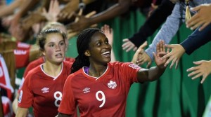 Nichelle Prince kept Canada's U-20 WWC hopes alive. (Getty Images)