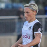 Jessica Fishlock's 86th minute goal lifted the Reign to their first road win of 2015.