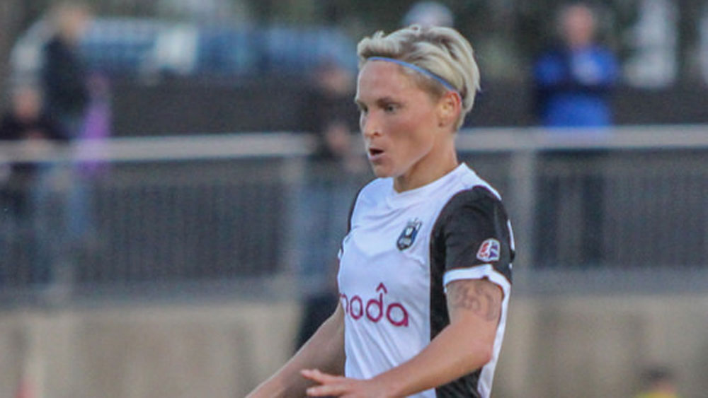 Jessica Fishlock has played all over the world and she loves the depth and parity of NWSL.