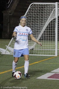 NWSL Rookie of the Year Julie Johnston's impact on the Red Stars was immediate. (Photo Copyright Clark Linehan for The Equalizer)