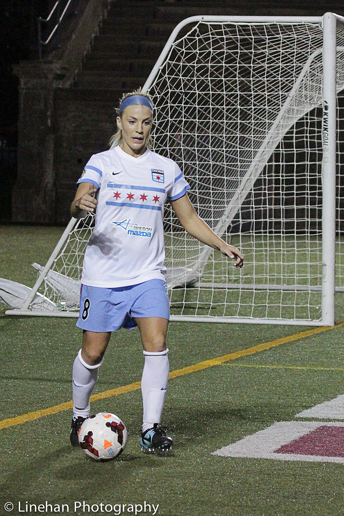 Julie Johnston is confident after a successful rookie season. (Photo Copyright Clark Linehan for The Equalizer)