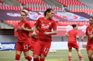 Christine Sinclair and Canada won't play the Netherlands or New Zealand at the Cyprus Cup. (Photo: Canada Soccer)