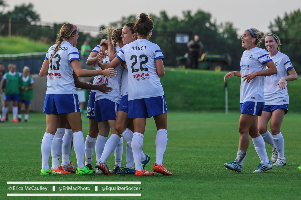 FC Kansas City hosts Seattle Reign FC on Saturday in a No. 2 vs. No. 1 matchup. (Photo Copyright Erica McCaulley for The Equalizer)