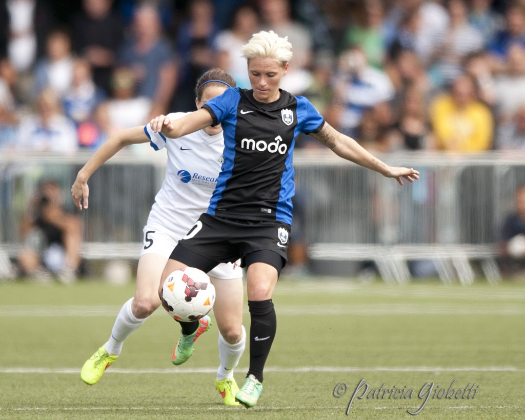 Jess Fishlock says the 2015 NWSL season is like her World Cup, since Wales did not qualify. (Photo Copyright Patricia Giobetti for The Equalizer)