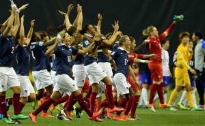 France will now face Germany in the quarterfinals. (Getty Images)