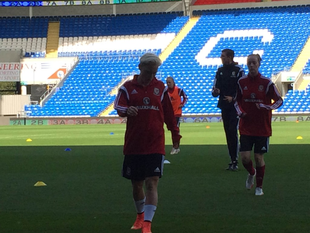 Jess Fishlock and Wales hope to pull an upset vs. England. (Photo Copyright Harjeet Johal for The Equalizer)