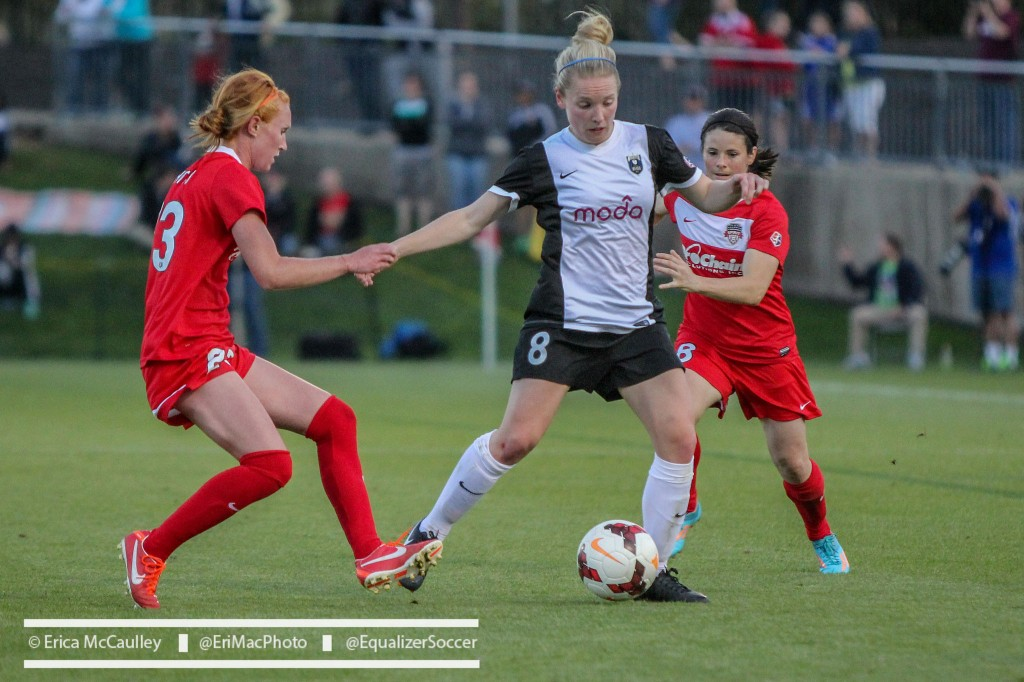 Kim Little will likely be named the 2014 NWSL MVP. She earned the votes of Dan Lauletta and Jeff Kassouf. (Photo Copyright Erica McCaulley for The Equalizer)