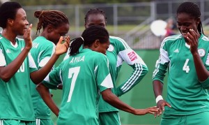 Nigeria is moving on to the semifinals. (Getty Images)