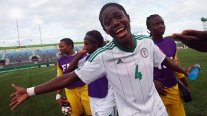 Asisat Oshoala currently leads the U-20 Women's World Cup with seven goals in five matches. (Getty Images)