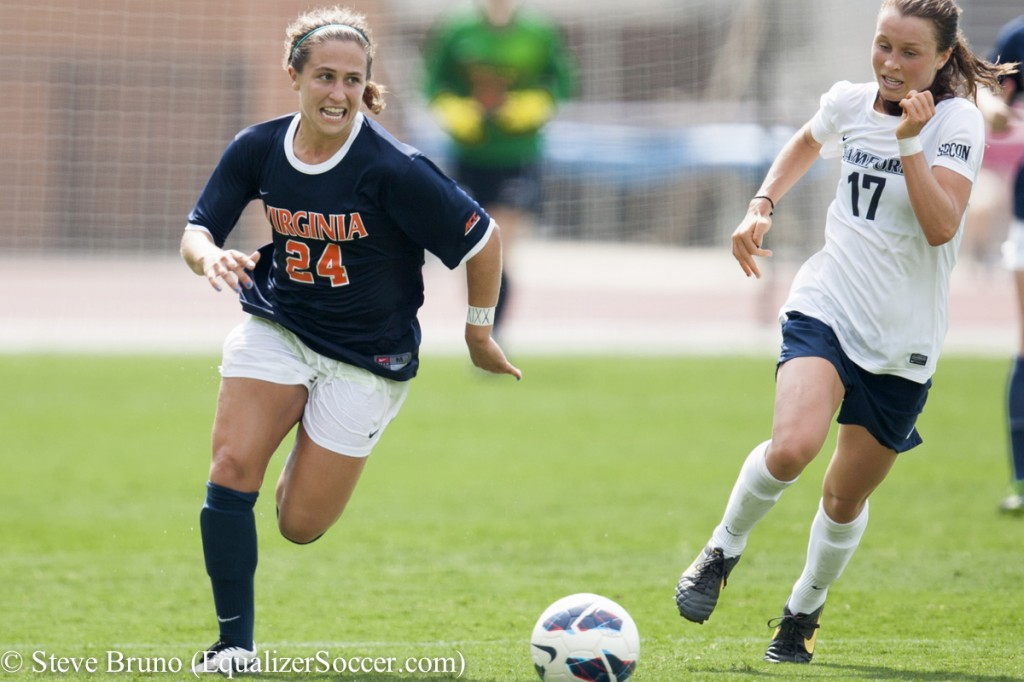 With Virginia facing questions in midfield, more responsibility falls on Danielle Colaprico.  (Photo Copyright Steve Bruno for The Equalizer)