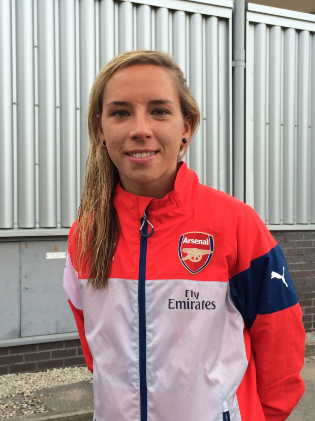 Jordan Nobbs' midfielder energy will be key in getting Arsenal back to the Champions League (Photo Copyright Harjeet Johal for The Equalizer)