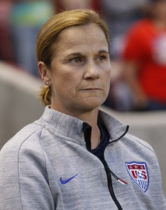 Jill Ellis has tough decisions to make ahead of World Cup qualifying. (Getty Images)