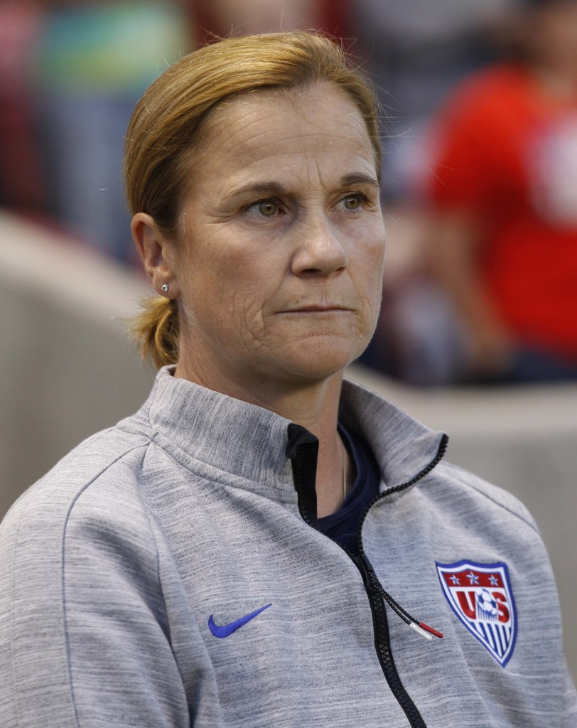Jill Ellis says the U.S. must continue to evolve its style of play. (Getty Images)