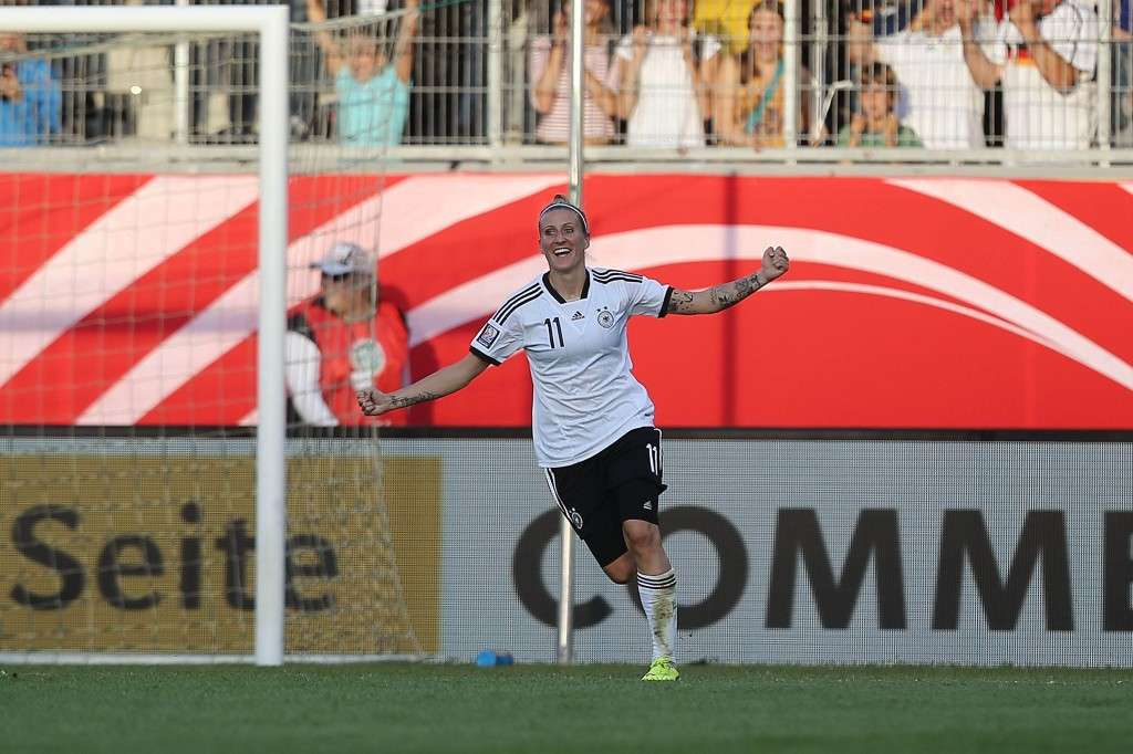 Team-leading scorer Anja Mittag scored twice to lift Rosengård to a second straight Swedish crown. (Getty Images)