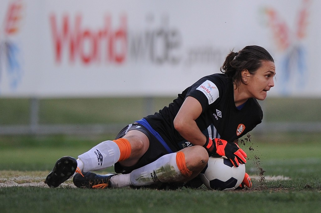 Nadine Angerer made her W-League season debut on Saturday. (Getty Images)