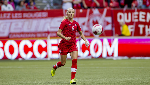 Kaylyn Kyle has signed on to endorse FieldTurf. (Photo: Canada Soccer)