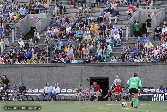 NWSL fan engagement needs improvement, Dan Lauletta writes. (Photo Copyright Clark Linehan for The Equalizer)