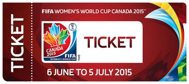 Canada World Cup ticket