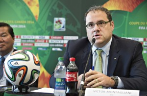 Canada Soccer Association president Victor Montagliani says artificial turf complaints are without merit. (Photo Courtesy Canada Soccer)