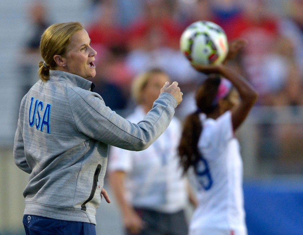 Jill Ellis has named her 20-player roster for Women's World Cup qualifying. (Getty Images)