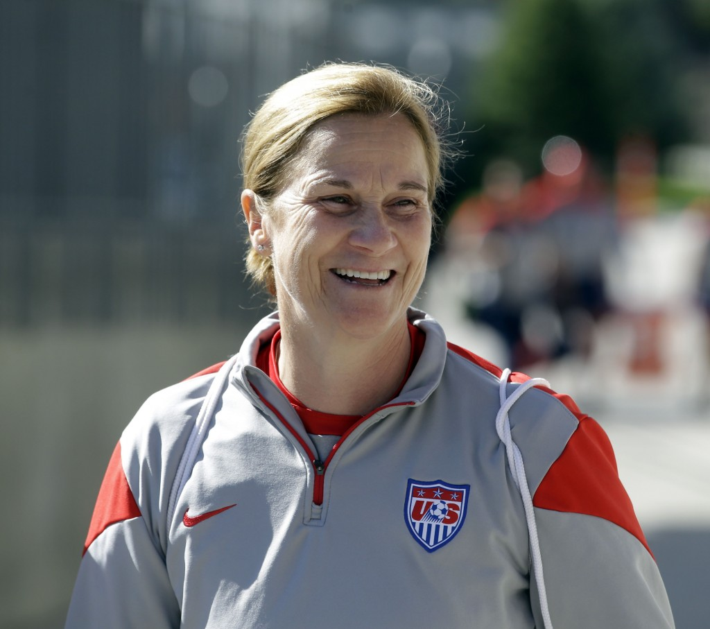 Jill Ellis named her 20-player USWNT World Cup qualifying roster on Monday. (AP Photo)