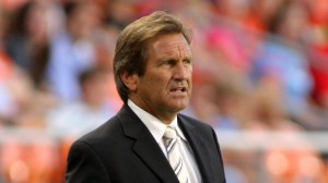Randy Waldrum believed his Trinidad and Tobago side will qualify for Canada (AP Photo).